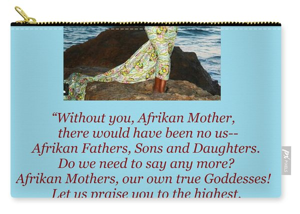 Afrikan Mother Carry-all Pouch