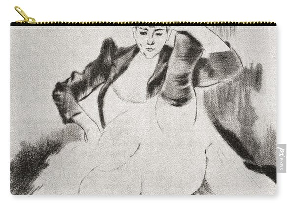 After A Work By Louis Legrand Entitled Carry-all Pouch
