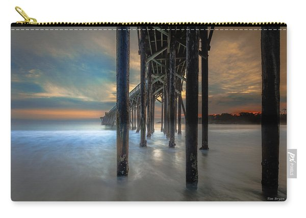 Afterglow At San Simeon Carry-all Pouch