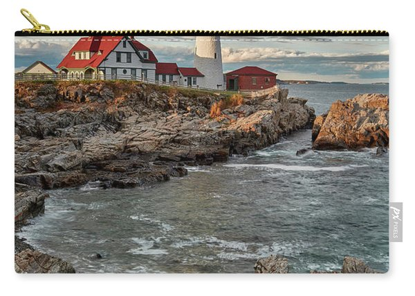 Afternoon Light At Cape Neddick Carry-all Pouch