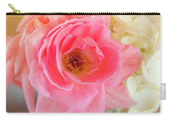 Afternoon Rose By Mike-hope Carry-all Pouch