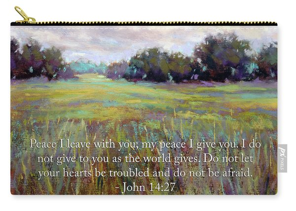 Afternoon Serenity With Bible Verse Carry-all Pouch