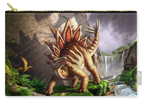 Against The Wall Carry-all Pouch