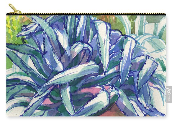 Agave Tangle Carry-all Pouch