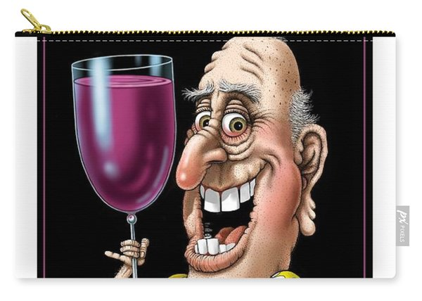 Age Gets Better With Wine Carry-all Pouch