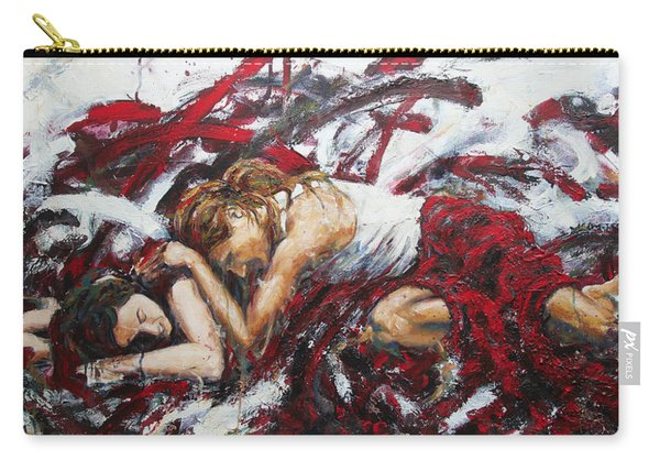 Agony And Empathy Carry-all Pouch