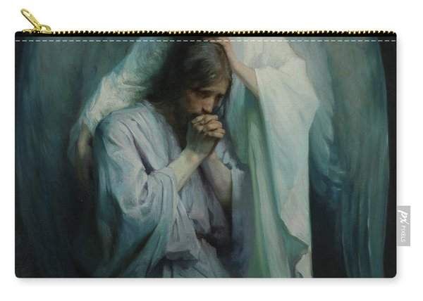 Agony In The Garden, 1898 Carry-all Pouch