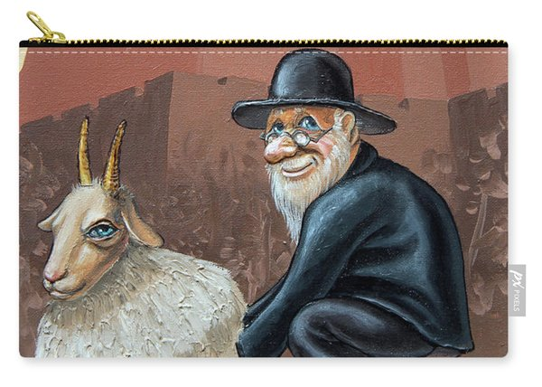Aidishe Nahes.  Jewish Luck Carry-all Pouch