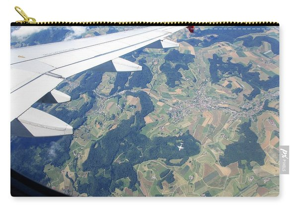 Air Berlin Over Switzerland Carry-all Pouch