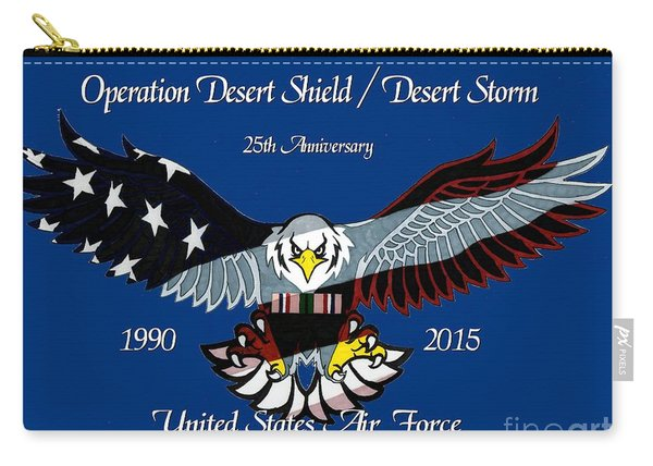 Air Force Desert Storm Carry-all Pouch