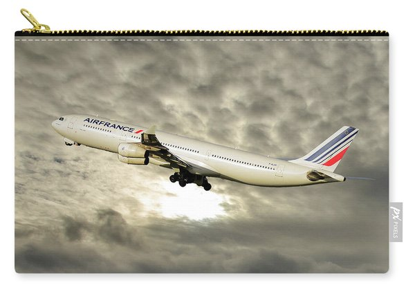 Air France Airbus A340-313 115 Carry-all Pouch