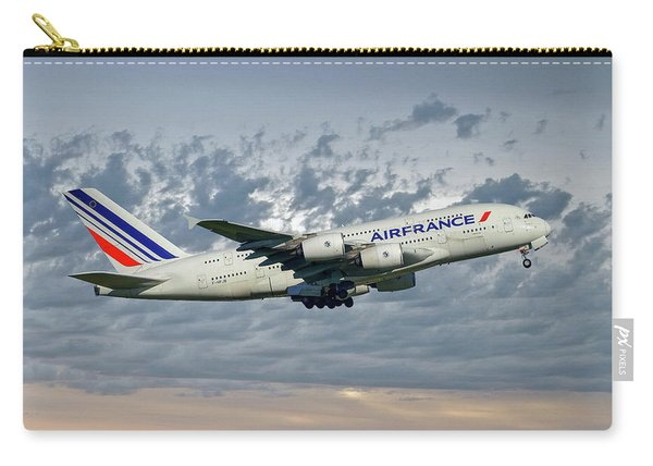 Air France Airbus A380-861 113 Carry-all Pouch