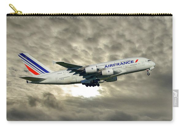 Air France Airbus A380-861 115 Carry-all Pouch