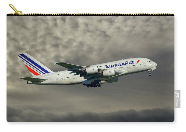 Air France Airbus A380-861 116 Carry-all Pouch