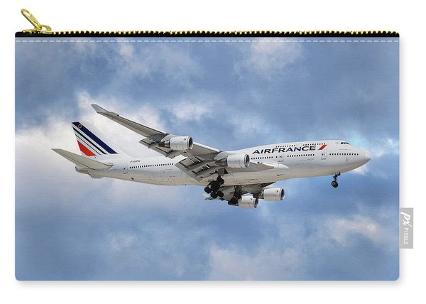 Air France Boeing 747-428 118 Carry-all Pouch