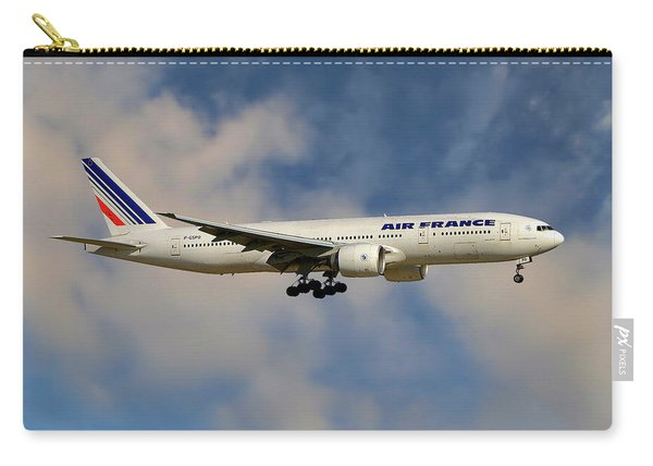 Air France Boeing 777-228 Carry-all Pouch