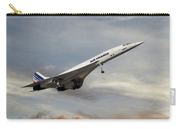 Air France Concorde 122 Carry-all Pouch