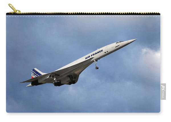 Air France Concorde 117 Carry-all Pouch