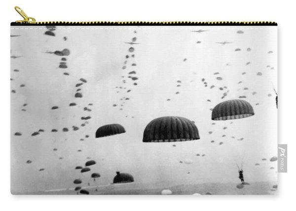 Airborne Mission During Ww2  Carry-all Pouch