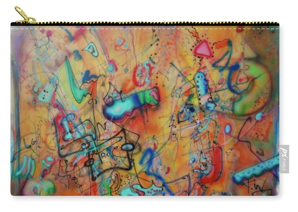 Digital Landscape, Airbrush 1 Carry-all Pouch