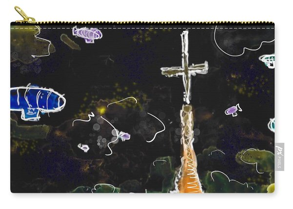 Airships At Night Carry-all Pouch