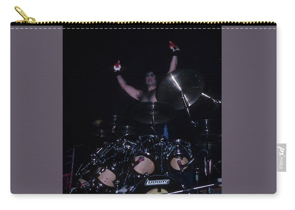 A.j. Pero Of Twisted Sister Carry-all Pouch