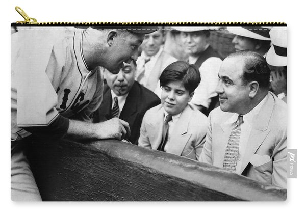 Al Capone At The Cubs Game Carry-all Pouch