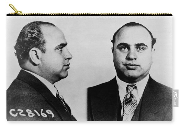 Al Capone Mugshot Carry-all Pouch