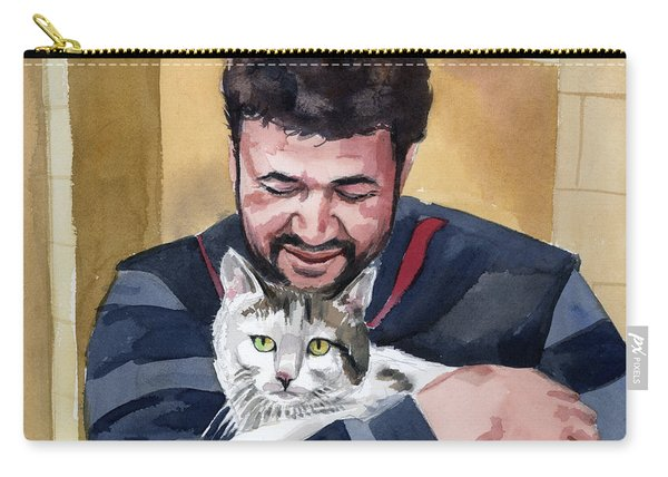 Alaa And Samson Carry-all Pouch