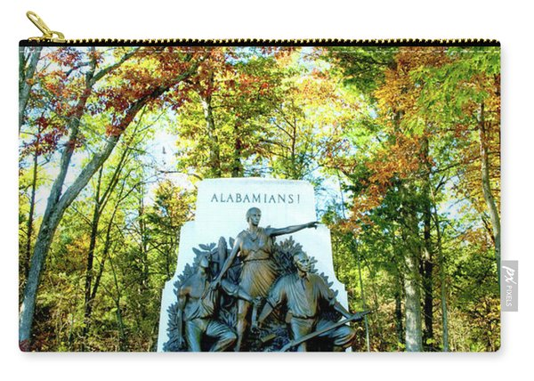 Alabama Monument At Gettysburg Carry-all Pouch