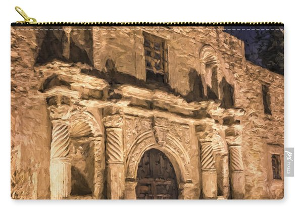 Alamo Door Painterly Carry-all Pouch
