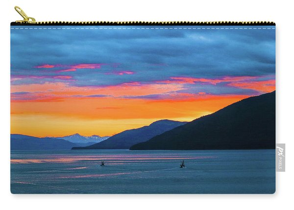 Alaska Fishermans Sunset Carry-all Pouch