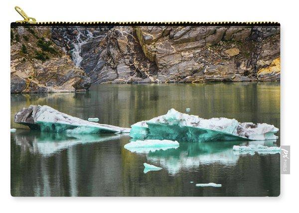 Alaskan Icebergs Carry-all Pouch