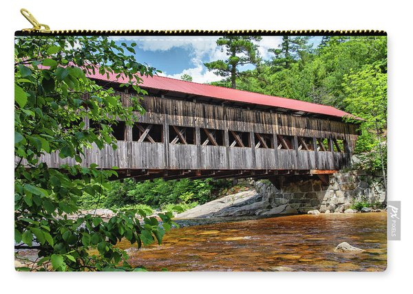 Albany Covered Bridge  Carry-all Pouch
