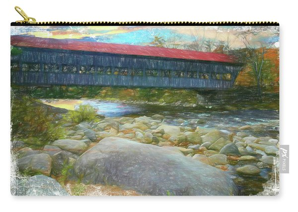 Albany Covered Bridge Nh. Carry-all Pouch