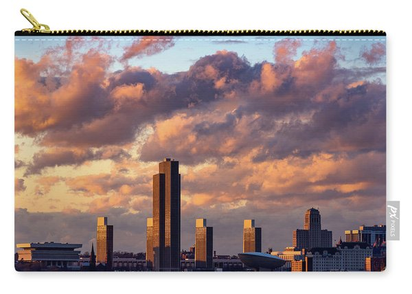 Albany Sunset Skyline Carry-all Pouch