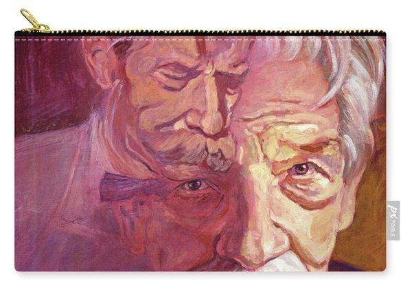 Albert Schweitzer Portrait Carry-all Pouch