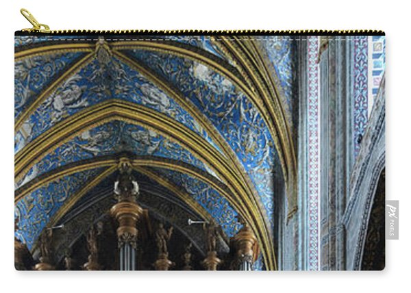 Albi Cathedral Nave Carry-all Pouch