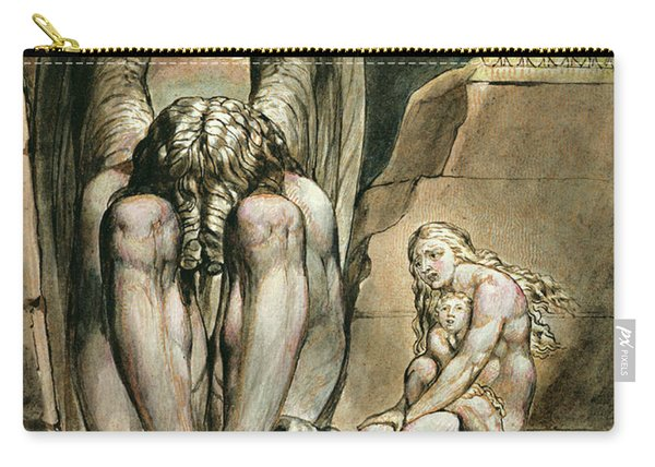 Albion's Angel, Frontispiece To America, A Prophecy, Circa 1821 Carry-all Pouch
