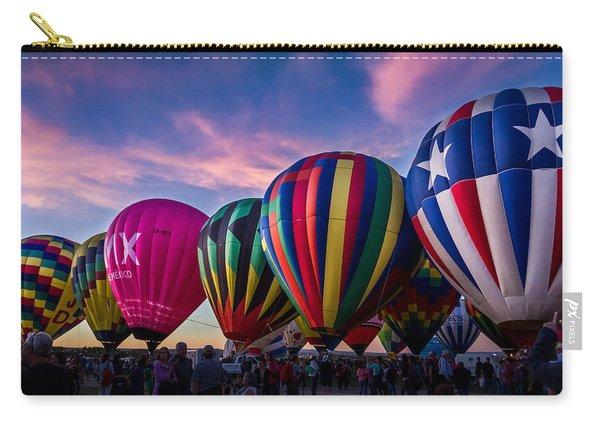 Albuquerque Hot Air Balloon Fiesta Carry-all Pouch