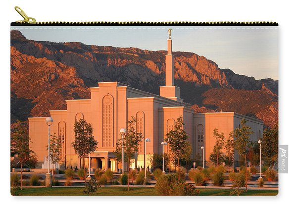 Albuquerque Lds Temple At Sunset 1 Carry-all Pouch