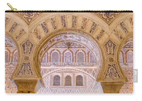 Alcazar Of Seville - Unique Architecture Carry-all Pouch