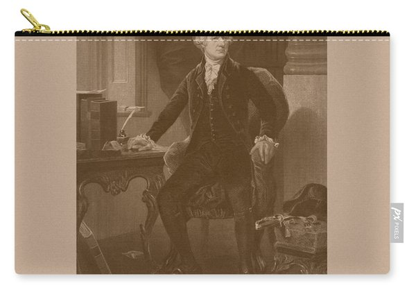 Alexander Hamilton Sitting At His Desk Carry-all Pouch