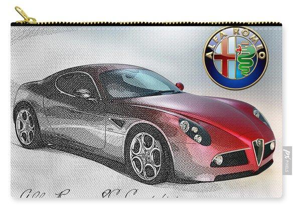 Alfa Romeo 8c Competizione  Carry-all Pouch