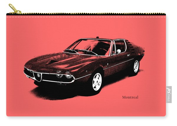 Alfa Romeo Montreal Carry-all Pouch