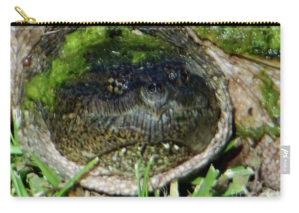 Algae Face Common Snapper Carry-all Pouch
