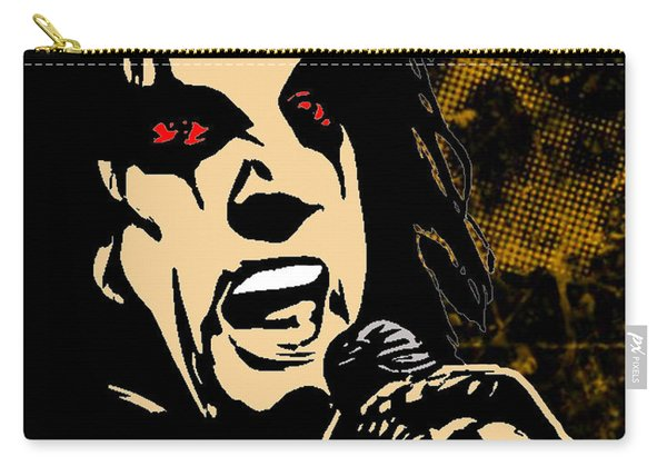 Alice Cooper Illustrated Carry-all Pouch