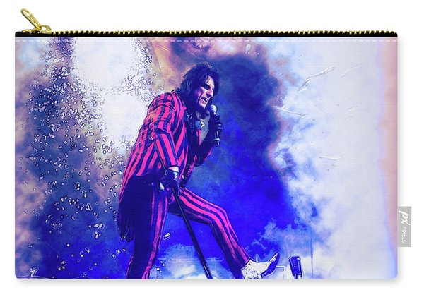 Alice Cooper On Stage Carry-all Pouch