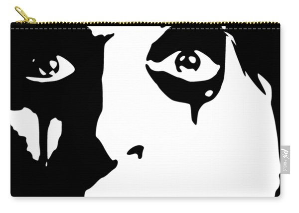 Alice Cooper Pop Art Carry-all Pouch