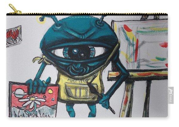 Alien Artist Carry-all Pouch